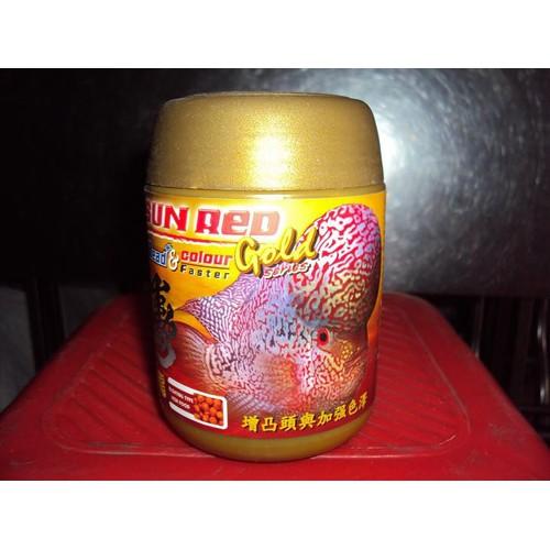 Thức ăn cho cá la hán sunred okiko thái lan - hàng công ty