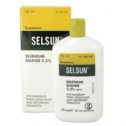 Selsun - Dầu gội trị gàu và nấm gia truyền Thái Lan