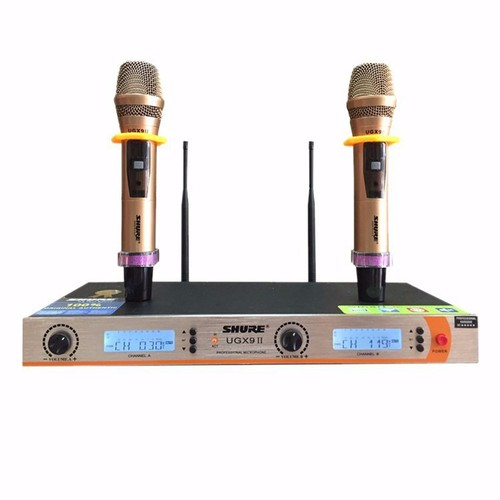 Micro không dây ugx9ii micro cho phong karaoke