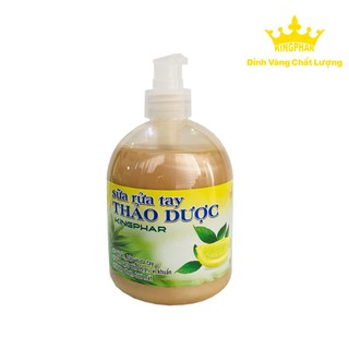 Sữa rửa tay Thảo dược Kingphar - Giữ ẩm da tay, sạch khuẩn - KPSTR500ML thumbnail