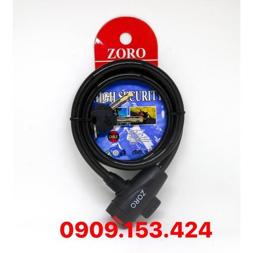 Ổ khóa dây - zoro có chìa 1m