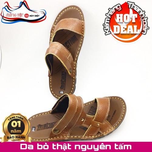 Rẻ nhất sàn dép sandal nam da bò thật cao cấp bảo hành 1 năm bán chạy nhất - 17347162 , 19995649 , 15_19995649 , 300000 , Re-nhat-san-dep-sandal-nam-da-bo-that-cao-cap-bao-hanh-1-nam-ban-chay-nhat-15_19995649 , sendo.vn , Rẻ nhất sàn dép sandal nam da bò thật cao cấp bảo hành 1 năm bán chạy nhất