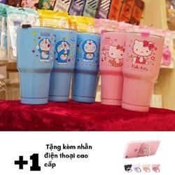 Ly Giữ Nhiệt Yeti Thái Lan  900ml  Tặng Kèm Ống Hút + Cọ Rửa + Túi Giữ Nhiệt xanh hồng như hình kèm quà tặng đặc biệt