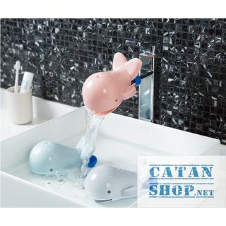 01 cái Vòi nước gắn lavabo giúp bé rửa tay dễ dàng hình cá voi siêu ngộ nghĩnh, tiện lợi, an toàn cho trẻ - giao màu ngẫu nhiên - BB43-VNCaVoi thumbnail
