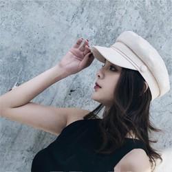 Mũ nón nồi, beret nữ phong cách ÂU-MỸ – hải quân