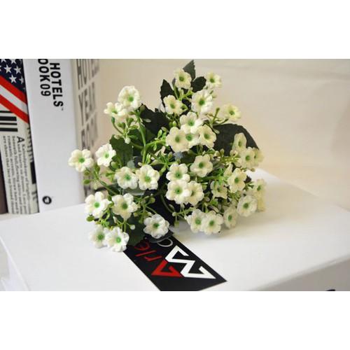 Hoa lụa: cụm hoa milan nhí