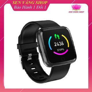 [ĐƯỢC KIỂM HÀNG] Đồng Hồ Thông Minh Y7, Theo Dõi Sức Khỏe IP67 Chống Nước Bluetooth 4.0 Android IOS - đồng hồ y7 thumbnail