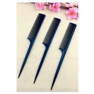 Combo 3 lược chia tóc đuôi nhựa - Đen - PK181 thumbnail