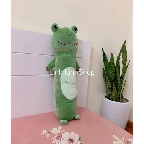 Gối ôm hình ếch size xl 90cm