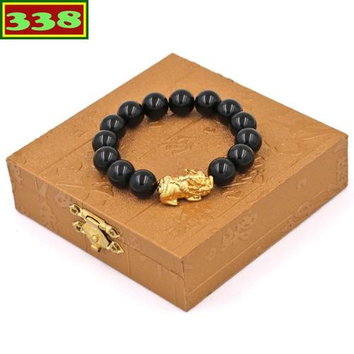 Vòng đeo tay tỳ hưu inox vàng - chuỗi đá thạch anh đen 12 ly vtaethv12 hộp gỗ - 12239116 , 19991370 , 15_19991370 , 200000 , Vong-deo-tay-ty-huu-inox-vang-chuoi-da-thach-anh-den-12-ly-vtaethv12-hop-go-15_19991370 , sendo.vn , Vòng đeo tay tỳ hưu inox vàng - chuỗi đá thạch anh đen 12 ly vtaethv12 hộp gỗ