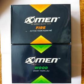 Xà bông hương nước hoa X-men wood và fire - Xà bông Xmen 90g