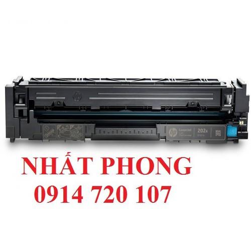 Hộp mực màu xanh cf501a dùng cho máy in hp color m254, m280, m281 - hp 202a