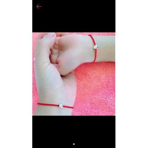Sét vòng tay chỉ đỏ cho mẹ và bé - 12243789 , 19997782 , 15_19997782 , 30000 , Set-vong-tay-chi-do-cho-me-va-be-15_19997782 , sendo.vn , Sét vòng tay chỉ đỏ cho mẹ và bé