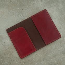 Bìa da đựng sổ tay - da bò - đồ da handmade MC485