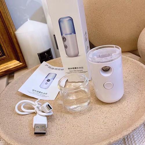 [ siêu rẻ ] máy xịt khoáng nano mini - giúp da khỏe mạnh