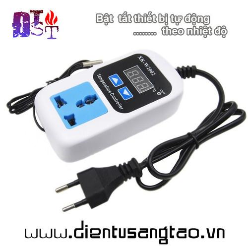 Ổ cắm tự động bật tắt thiết bị theo cảm biến nhiệt độ xk-w2002 - 12239522 , 19992251 , 15_19992251 , 150000 , O-cam-tu-dong-bat-tat-thiet-bi-theo-cam-bien-nhiet-do-xk-w2002-15_19992251 , sendo.vn , Ổ cắm tự động bật tắt thiết bị theo cảm biến nhiệt độ xk-w2002