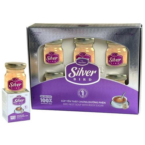 6 hộp nước yến sào chưng đường phèn sợi yến thật silver bird 6 hũ x 42g - 12238056 , 19989823 , 15_19989823 , 410000 , 6-hop-nuoc-yen-sao-chung-duong-phen-soi-yen-that-silver-bird-6-hu-x-42g-15_19989823 , sendo.vn , 6 hộp nước yến sào chưng đường phèn sợi yến thật silver bird 6 hũ x 42g