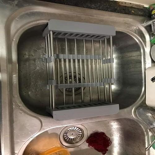 kệ co giãn để bồn rửa chén - 11189519 , 19991098 , 15_19991098 , 95000 , ke-co-gian-de-bon-rua-chen-15_19991098 , sendo.vn , kệ co giãn để bồn rửa chén