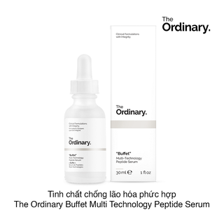 Serum chống lão hóa The Ordinary Buffet Multi-Technology Peptide Serum 30ml - TOBMTPS thumbnail