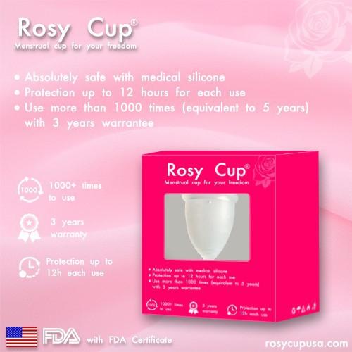 Cốc nguyệt san rosy cup chính hãng