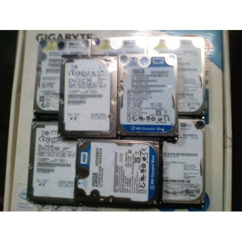 Hdd laptop 500gb cũ