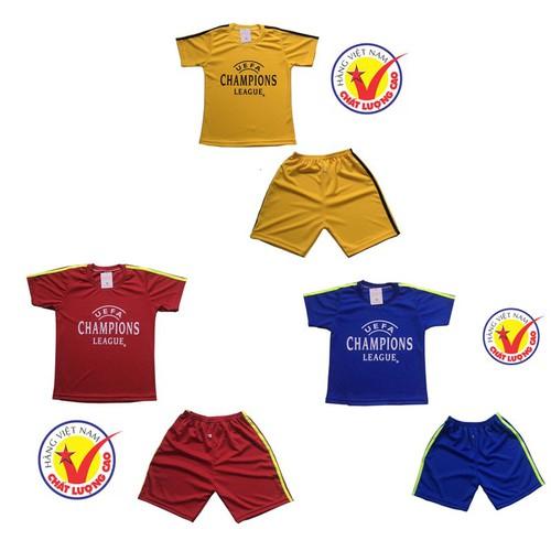 Sét 3 bộ đồ thể thao trẻ em, áo đấu câu lạc bộ dành cho bé trai và bé gái, thời trang thun lạnh cho bé từ 10-40kg- 3 màu khác - 12239246 , 19991572 , 15_19991572 , 170000 , Set-3-bo-do-the-thao-tre-em-ao-dau-cau-lac-bo-danh-cho-be-trai-va-be-gai-thoi-trang-thun-lanh-cho-be-tu-10-40kg-3-mau-khac-15_19991572 , sendo.vn , Sét 3 bộ đồ thể thao trẻ em, áo đấu câu lạc bộ dành cho b
