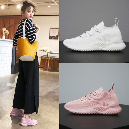 Giày thể thao nữ  độn đế - giày sneaker nữ đế cao su hàng loại một