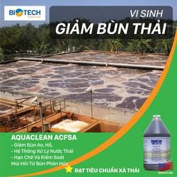 Vi sinh xử lý bùn thải Aquaclean SA chai 3,785 lít