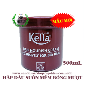 Hấp dầu Kella Nourish Cream - Hấp dầu Kella Đỏ