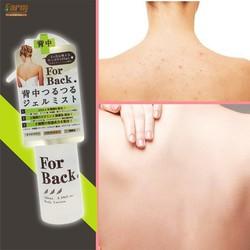"""Kết quả hình ảnh cho """"Gel trị mụn lưng For Back dạng xịt """""""