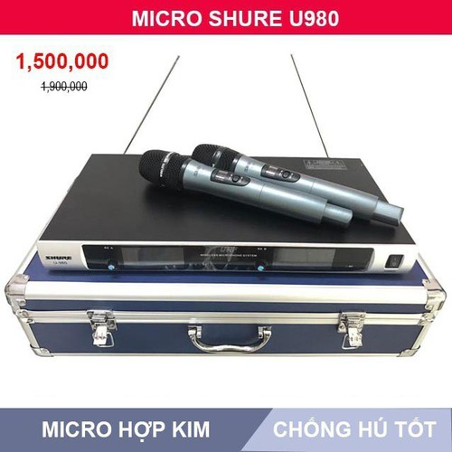 Micro không dây bs u980 micro micro khong day micro khong day gia re - 12254405 , 20013712 , 15_20013712 , 1530000 , Micro-khong-day-bs-u980-micro-micro-khong-day-micro-khong-day-gia-re-15_20013712 , sendo.vn , Micro không dây bs u980 micro micro khong day micro khong day gia re