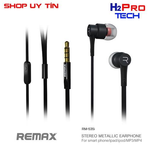 Tai nghe remax nhét tai có mic rm-535 chính hãng   tai nghe - 12257124 , 20017676 , 15_20017676 , 169000 , Tai-nghe-remax-nhet-tai-co-mic-rm-535-chinh-hang-tai-nghe-15_20017676 , sendo.vn , Tai nghe remax nhét tai có mic rm-535 chính hãng   tai nghe