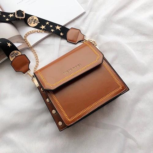 Túi xách tay, đeo chéo nữ thời trang t54 form túi hộp dáng đứng kích cỡ 20x19x8cm màu: nâu - da bò - đen - 12245692 , 20000703 , 15_20000703 , 450000 , Tui-xach-tay-deo-cheo-nu-thoi-trang-t54-form-tui-hop-dang-dung-kich-co-20x19x8cm-mau-nau-da-bo-den-15_20000703 , sendo.vn , Túi xách tay, đeo chéo nữ thời trang t54 form túi hộp dáng đứng kích cỡ 20x19x8cm