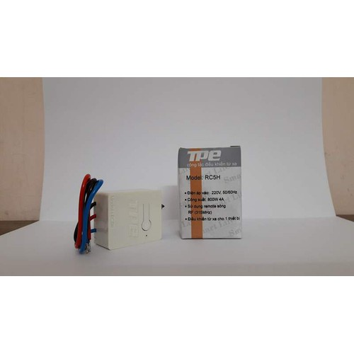 Công tắc điều khiển từ xa cho máng đèn tpe rc5h - 12247908 , 20003815 , 15_20003815 , 49000 , Cong-tac-dieu-khien-tu-xa-cho-mang-den-tpe-rc5h-15_20003815 , sendo.vn , Công tắc điều khiển từ xa cho máng đèn tpe rc5h