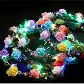 Vòng hoa có đèn nháy - vonghoa thumbnail