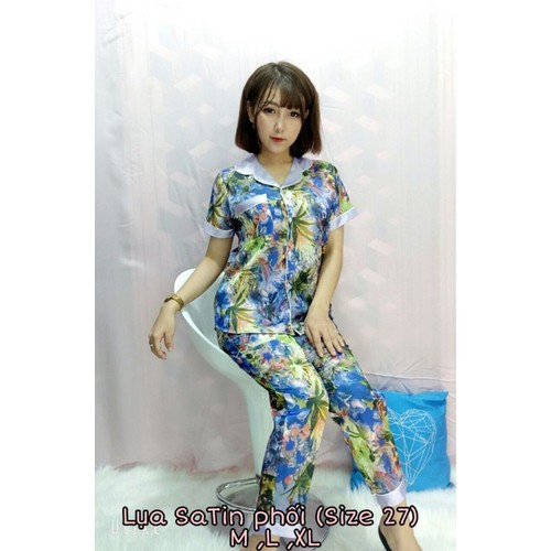 S2059 đồ bộ pijama lụa satin họa tiết tay ngắn quần dài cao cấp - 12252598 , 20011158 , 15_20011158 , 230000 , S2059-do-bo-pijama-lua-satin-hoa-tiet-tay-ngan-quan-dai-cao-cap-15_20011158 , sendo.vn , S2059 đồ bộ pijama lụa satin họa tiết tay ngắn quần dài cao cấp