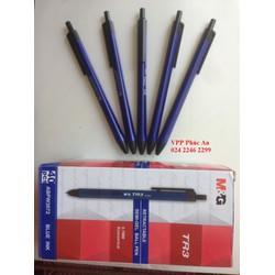 Hộp 40 chiếc bút bi MG TR3, mực xanh 0.7mm