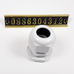 Ốc siết cáp nhựa PG21 - bộ 5 cái