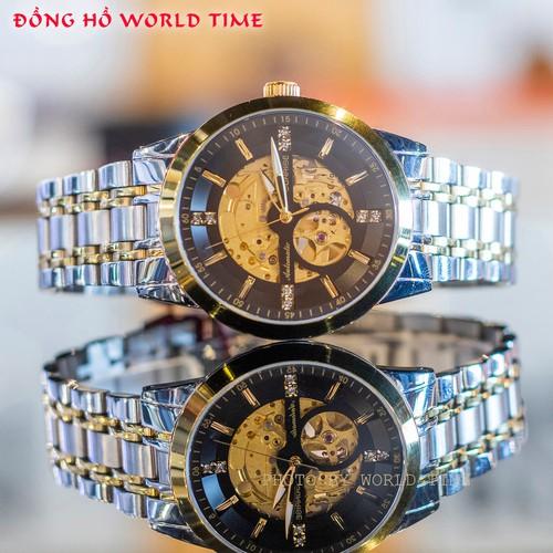 Đồng Hồ Nam Sunrise DM1143SWA W Automatic [ Chính Hãng Full Box ] Kính Sapphire Chống Xước , Chống Nước - Dây Da Cao Cấp - 11841110 , 20011033 , 15_20011033 , 3980000 , Dong-Ho-Nam-Sunrise-DM1143SWA-W-Automatic-Chinh-Hang-Full-Box-Kinh-Sapphire-Chong-Xuoc-Chong-Nuoc-Day-Da-Cao-Cap-15_20011033 , sendo.vn , Đồng Hồ Nam Sunrise DM1143SWA W Automatic [ Chính Hãng Full Box ]