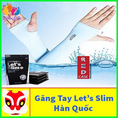 Bộ 2 găng tay chống nắng let's slim nhập nhập khẩu hàn quốc