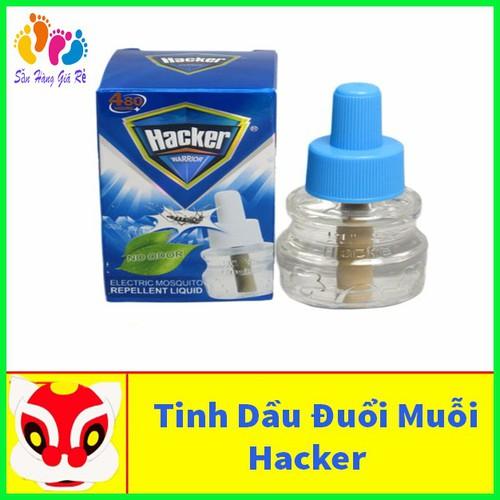 Lọ xông tinh dầu dùng cho máy đuổi muỗi hacker