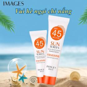[CHÍNH HÃNG] Kem chống nắng dưỡng da Images SPF45 PA+++ 15g kem chống nắng mặt kem chống nắng toàn thân JS-S10 - JS-S10