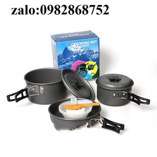Bộ nồi nấu ăn du lịch - 12249135 , 20005866 , 15_20005866 , 950000 , Bo-noi-nau-an-du-lich-15_20005866 , sendo.vn , Bộ nồi nấu ăn du lịch