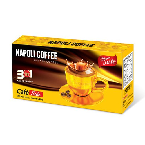 Cà phê sữa nóng 3in1 - napoli cafe - dây 10 gói - 12247480 , 20003287 , 15_20003287 , 23000 , Ca-phe-sua-nong-3in1-napoli-cafe-day-10-goi-15_20003287 , sendo.vn , Cà phê sữa nóng 3in1 - napoli cafe - dây 10 gói