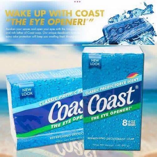 Lốc 8 cục xà bông Coast Mỹ - 18072019