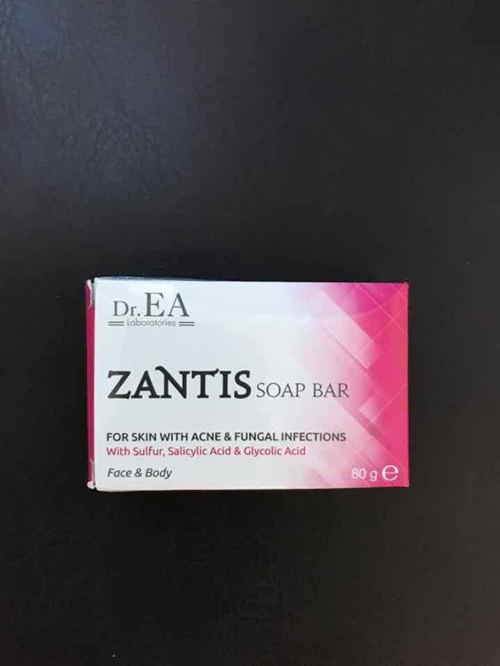 zantis soap bar bánh xà phòng y khoa