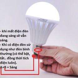 Bóng đèn Led - Tích Điện