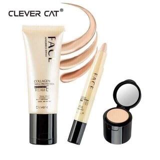 Set Kem Nền BB cream collagen + Thanh Che Khuyết Điểm Clever Cat - Chính Hãng - SKN8525 thumbnail