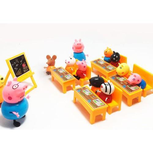 Sỉ ib bộ lợn lớp học pepa pig 13 nhân vật