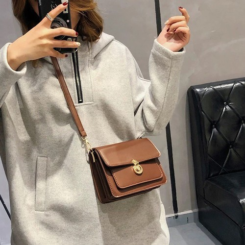 Túi đeo chéo nữ thời trang t62 size 19x15x8cm dây đeo chéo da bản nhỏ phụ kiện thời trang nữ